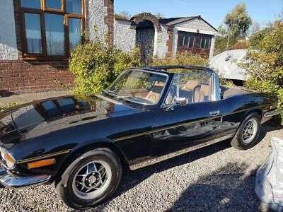 Lovely Low Mileage 1972 Triumph Stag V8 Manual O/D,No Reserve