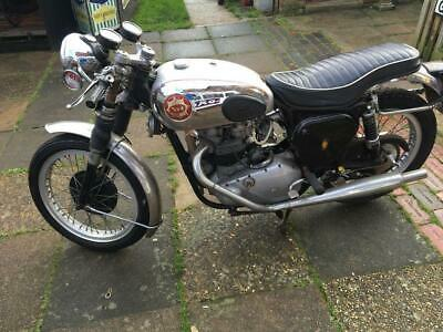 Bsa A7 A10 Rrt2 Gold Star Rare Spares Or Repairs Barn Find Restoration Project