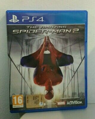 The Amazing Spiderman 2 Marvel Ps4 Playstation 4 ITA Raro Italiano Usato Used