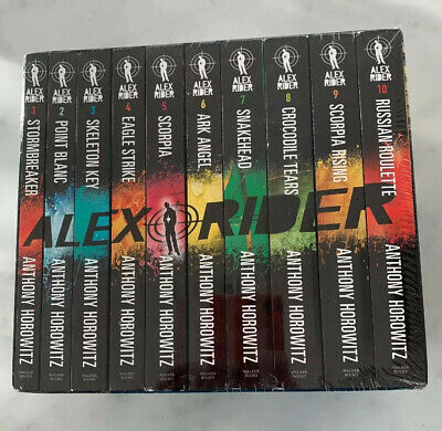 Alex Rider Complete 2015 Collection - Anthony Horowitz - 10 Books Boxed Set NEW