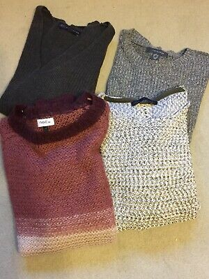 Bundle Of Ladies Jumpers Size 8/10 Small Next M&S Primark