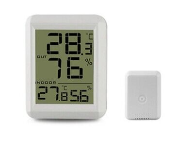 wireless indoor and outdoor electronic thermometer / hygrometer TS-FT0423