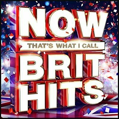 Now Thats What I Call Brit Hits Cd  Brand New Sealed