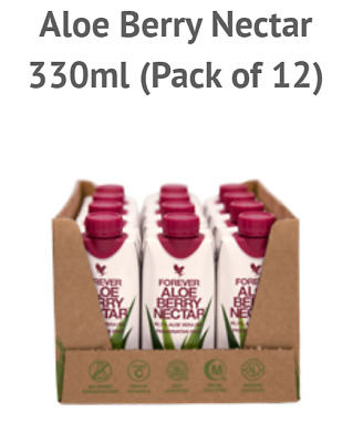FOREVER LIVING - ALOE BERRY NECTAR MINI (12 x 330ML) GEL DRINK  *SPECIAL DEAL*