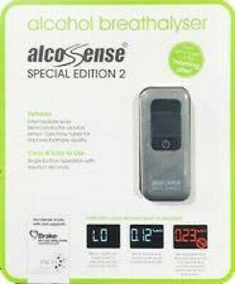 AlcoSense Special Edition 2 SE2 Pocket Alcohol Digital Breathalyze.