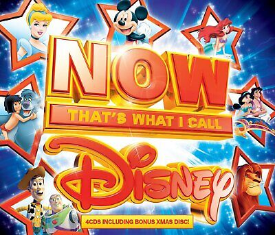 Now Thats What I Call Disney Includes Bonus Christmas Cd   Brand New Sealed