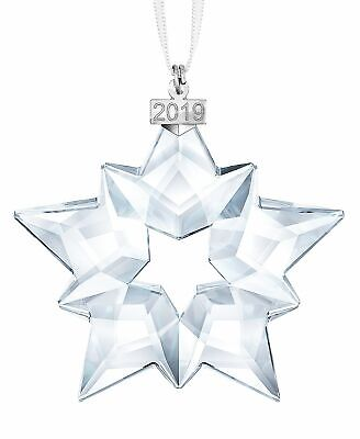 2019 Swarovski Crystal Snowflake ANNUAL EDITION LARGE CHRISTMAS ORNAMENT 5427990