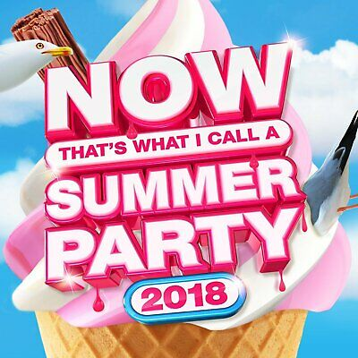 Now Thats What I Call Summer Party 2018 Cd Brand New Sealed