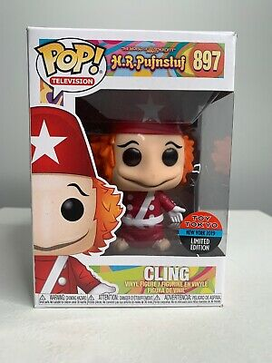 Funko Pop Cling NYCC 2019 Toy Tokyo Exclusive. H.R. Pufnstuf