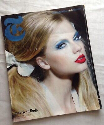 Taylor Swift - The New York Times Style Magazine - Holiday 2009 Preowned