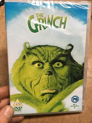 The Grinch-Jim Carrey(R2 DVD)New+Sealed Dr Seuss How The Grinch Stole Christmas