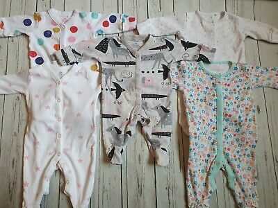 Baby Girl Next Sleepsuit Bundle Newborn Up To 1 Month 🎀