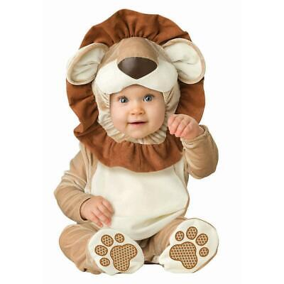 InCharacter Lovable Lion Infant Costume Size 6-12 Months New In Pack