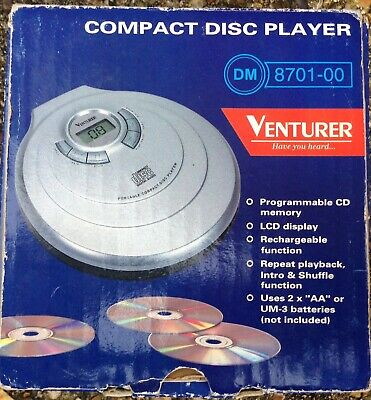 Ventura Portable Compact Disc Player DM8701-00 Working