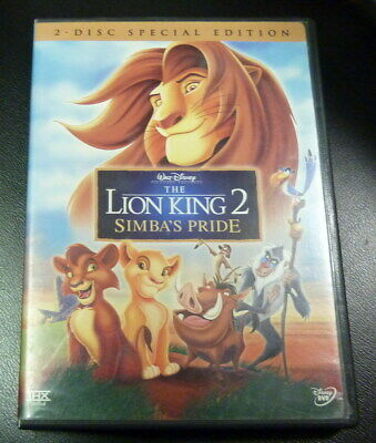 Disney The Lion King 2 Simbas Pride Dvd 2 Disc Special Edition With Insert
