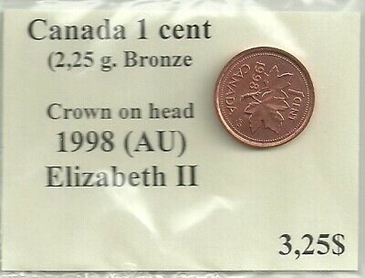 Canada Coins ▶ KM# 49 Cent for 1959 Elizabeth II