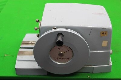 AO American Optical 820 Rotary Microtome Laboratory Equipment