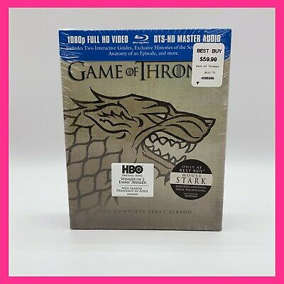 Game of Thrones: Season 1 (Blu-Ray Original Uncut Unedited) Stark Sigil
