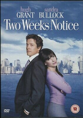 Two Weeks Notice (DVD, 2003). Hugh Grant.