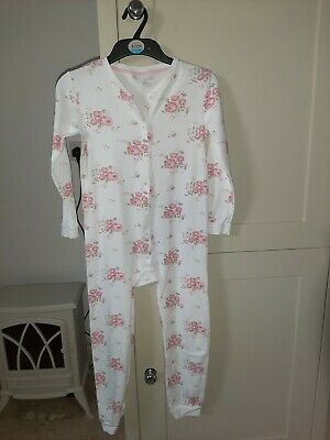Little White Company Girls All in One Pyjamas Age 9-10