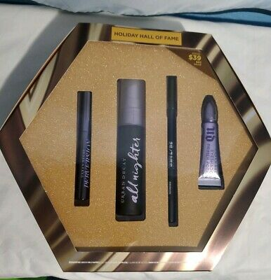 Urban Decay HOLIDAY HALL OF FAME 4 Pc Limited Edition Set NIB Authentic