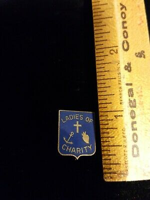LADIES OF CHARITY Pin