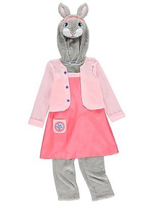 George Peter Rabbit Lily Bobtail Fancy Dress Costume Outfit World Book Day