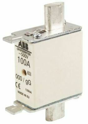 ABB 100A 0 HRC Centred Tag Fuse, gG, 500V 1SCA022627R1550