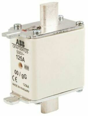 ABB 125A 0 HRC Centred Tag Fuse, gG, 500V 1SCA022627R1630