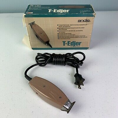 Vintage Andis T-Edjer Mode AE Trimmer With Original Box Free Shipping