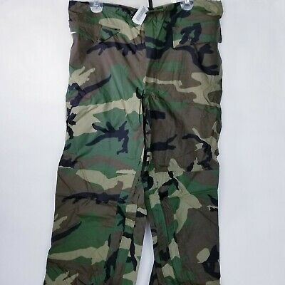 New medium Military ORC Improved Rainsuit Woodland Trousers Waterproof  new
