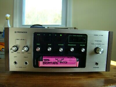 PIONEER H-R99 8 Track Stereo Tape Deck
