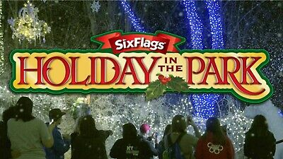 Four E-Tickets Six Flags Holiday in the park