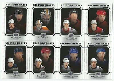 2019-20 Upper Deck Hockey Series 1 Ud Portraits (#P1-P38) U-Pick From List