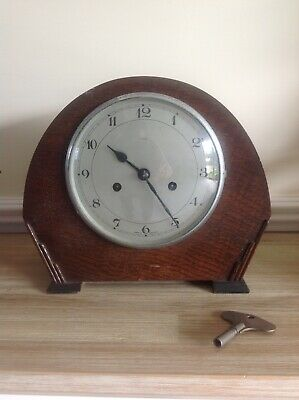 Enfield Chiming Mantel Clock With Key