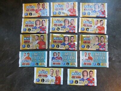 Topps Match Attax Trading Cards 2019/20 Season  Limited Edition Packs Bundle