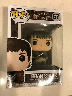 Funko Pop! Game of Thrones Bran Stark #67 Vaulted Vinyl Figure New In Box