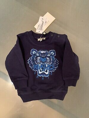 Kenzo Boys Jumper Age 12 Months , Long Sleeve Brand New With Tags