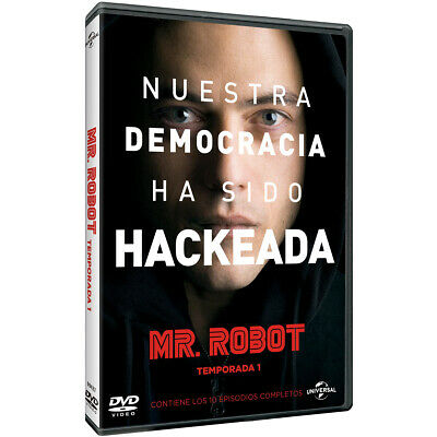 Pelicula Dvd Serie Tv Mr. Robot Temporada 1 Precintada