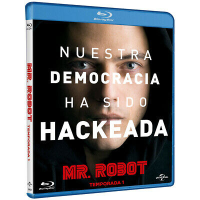 Pelicula Bluray Serie Tv Mr. Robot Temporada 1 Precintada