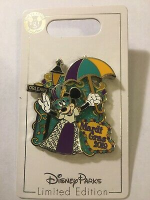 Disney Parks Minnie Mouse Mardi Gras 2019 Pin LE 3000 New In Hand