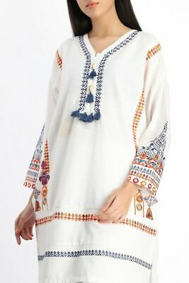 KHAADI:Brand New Latest Pakistani winter Collection Ready to Wear Kurta-Original