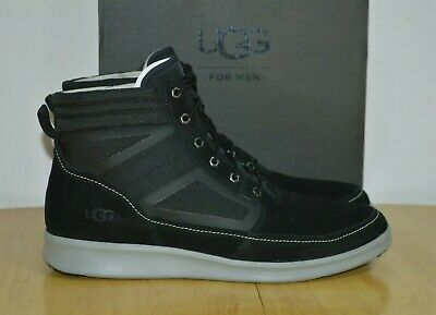 UGG Hepner Field Boot High top Trainers Men Black Shoes