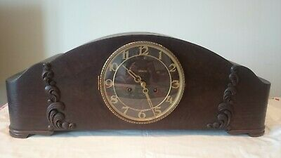 Antique German Mantle Clock - working (see video)