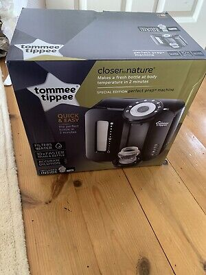 Tommee Tippee Closer to Nature Perfect Prep Machine - Black (New. Never Used)