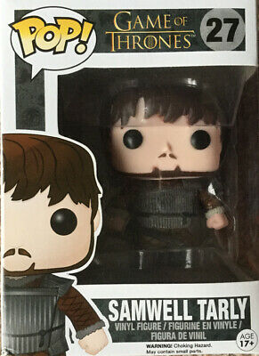 Game Of Thrones Samwell Tarly #27 Pop Funko Vinyl Figure New In Box Edition Four