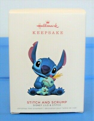 Stitch and Scrump Disney Lilo & Stitch 2019 Hallmark Keepsake Christmas Ornament