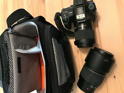 Sony Alpha a37 16.1MP Digital SLR Camera With / 18-55mm Lens With Accessories