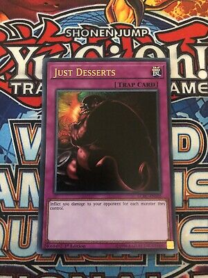 LCKC-EN105 Just Desserts Ultra Rare 1st Edition Mint YuGiOh Card