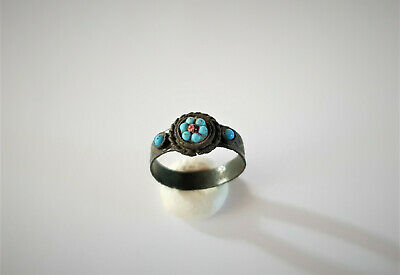 Post Medieval Tudor Era Bronze Ring 16-17 Ad